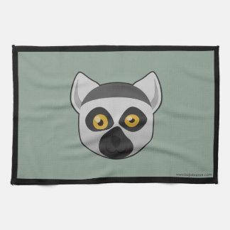 Lemur Anillo-Atado papel Toallas De Mano