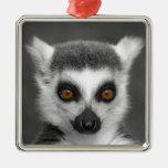 Lemur atado anillo adornos de navidad