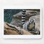 Lemur atado anillo alfombrilla de raton