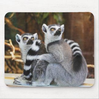 Lemur buddies mouse pad