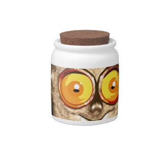 Lemur Candy Jar