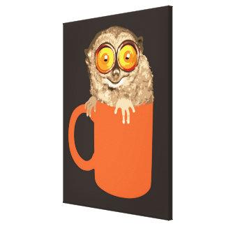 Lemur Stretched Canvas Prints