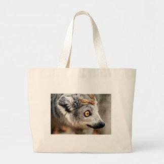 Lemur coronado hembra bolsa de mano