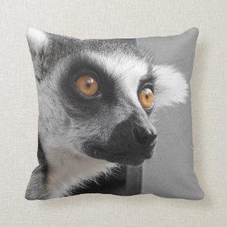 Lemur Cushion Throw Pillow