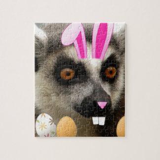 Lemur de Pascua Rompecabeza Con Fotos