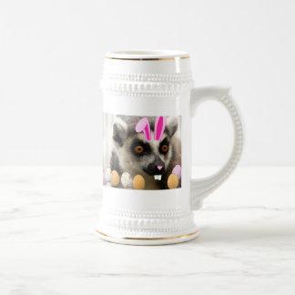 Lemur de Pascua Tazas De Café