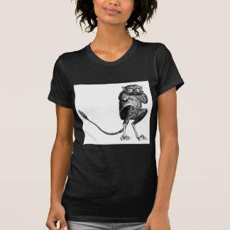 Lemur del vintage camisetas