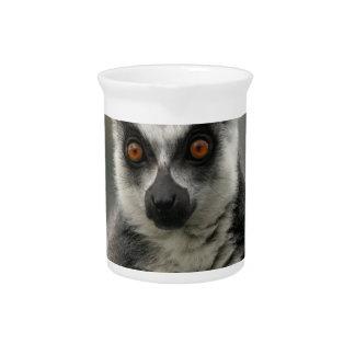 Lemur Face Pitcher