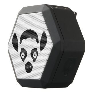 Lemur Face Silhouette Black Bluetooth Speaker