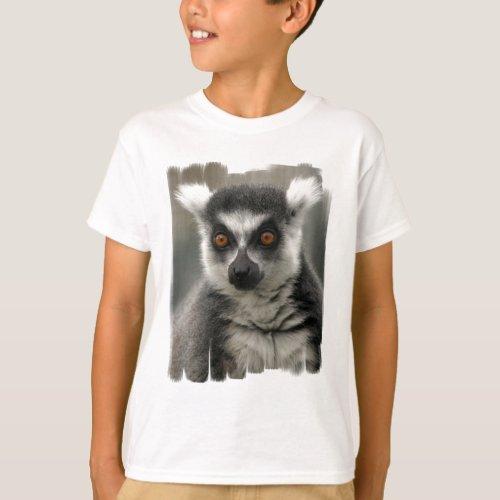 Lemur Face  Youth T_Shirt