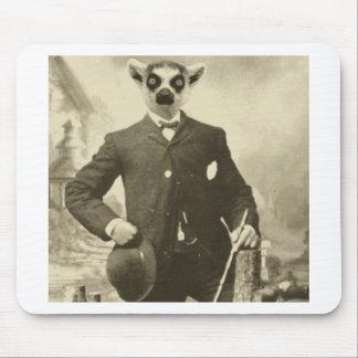 lemur guy mouse pad