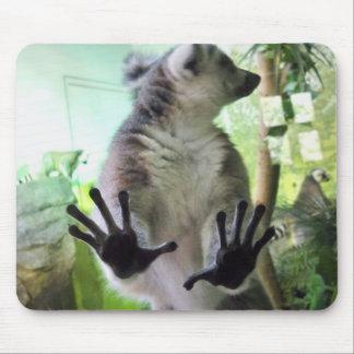 Lemur Hands Mousepads