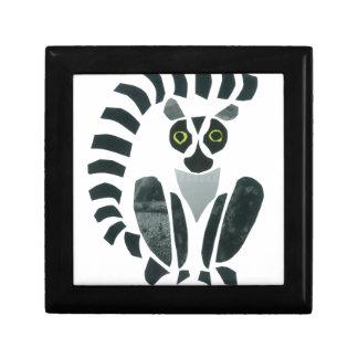 Lemur Joyero Cuadrado Pequeño