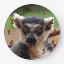 Lemur Large Clock