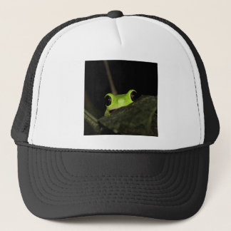 Lemur leaf Frog Trucker Hat
