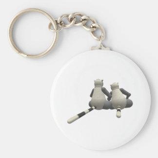 Lemur Love Keychain