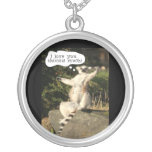Lemur Love You This Much Funny  Fathers Day Custom Jewelry
