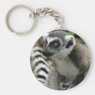 Lemur Monkey Keychain