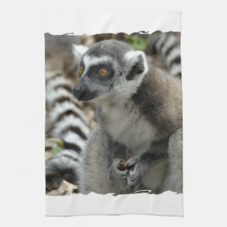 Lemur Monkey Kitchen Towel