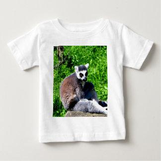 lemur monkey peace and relax infant t-shirt