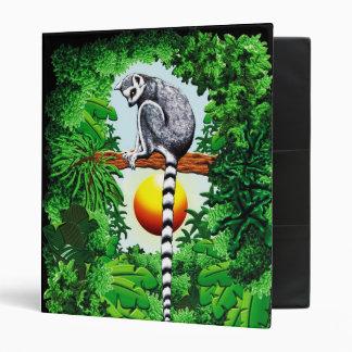 Lemur of Madagascar 3 Ring Binder