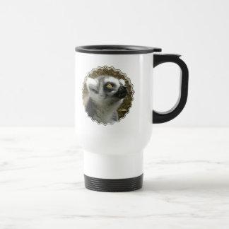 Lemur Photo Plastic Travel Mug