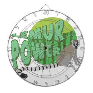 Lemur Power Dartboard With Darts
