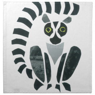 Lemur Servilleta Imprimida