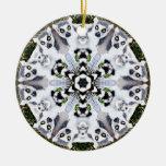 Lemur Snowflake Ornament