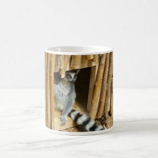 Lemur Taza Básica Blanca