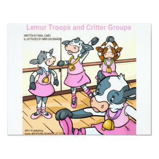 Lemur Troops & Critter Groups cattle Card
