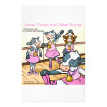Lemur Troops & Critter Groups cattle Stationery Design