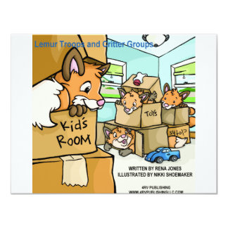Lemur Troops & Critter Groups Fox Leash Card