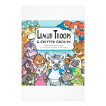 Lemur Troops & Critter Groups Stationery
