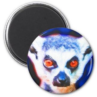*Lemur* Wild Spirit Designs 2 Inch Round Magnet