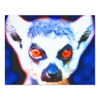 *Lemur* Wild Spirit Designs 4.25x5.5 Paper Invitation Card
