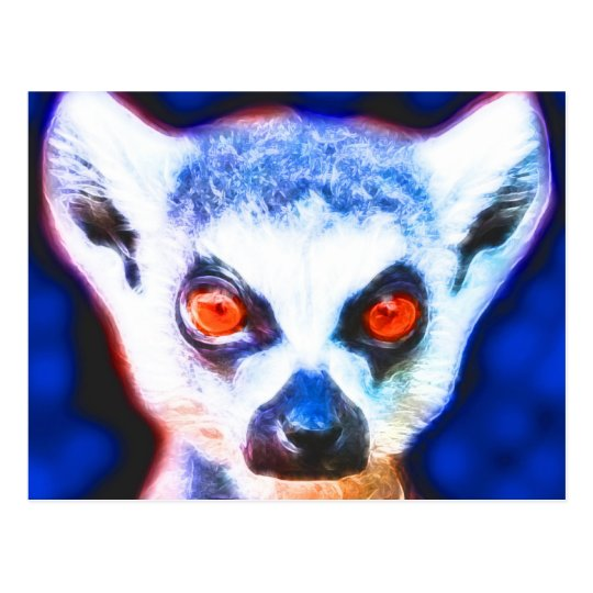 *Lemur* Wild Spirit Designs Postcard