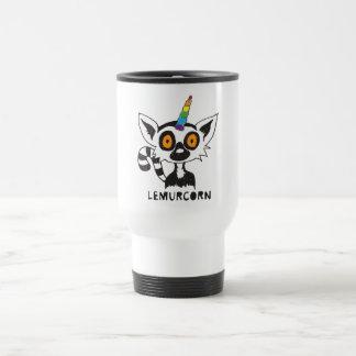 LemurCorn 15 Oz Stainless Steel Travel Mug