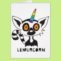LemurCorn Card