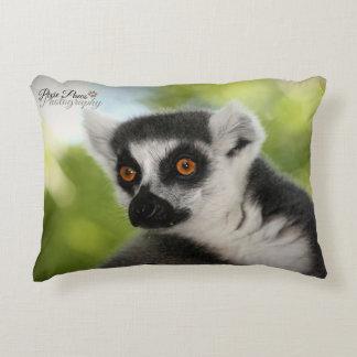 Lemurs are here ! decorative pillow
