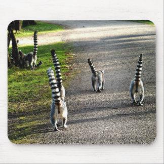 Lemurs del adiós alfombrilla de raton