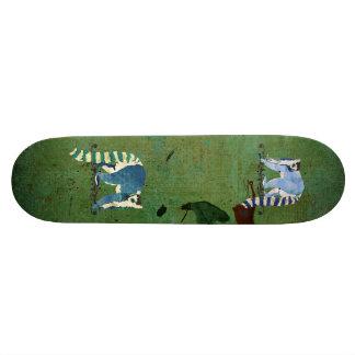 Lemurs Grunge Skateboard