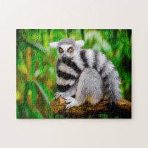 Lemurs. Jigsaw Puzzle