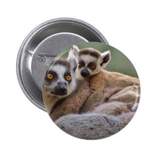 Lemurs Pinback Button