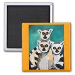 lemurs refrigerator magnets