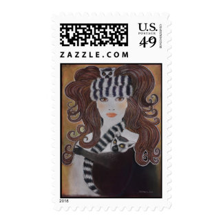 Lemurs & The Snow Princess Stamps