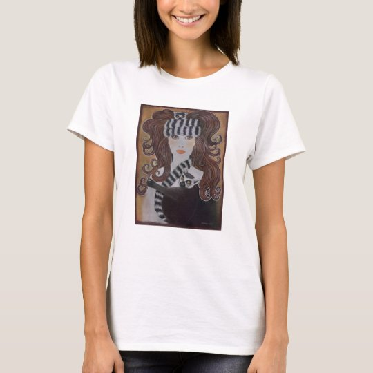 Lemurs Wearing Snow Princess T-Shirt