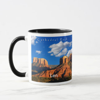 Len on Cathedral Rock and Courthouse Mug