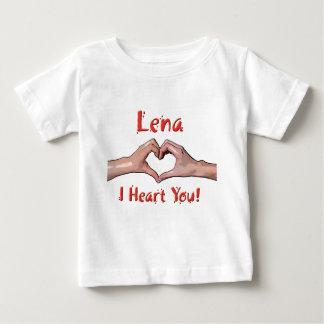 Lena - I Heart You! Baby T-Shirt