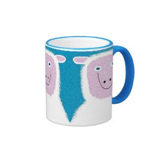 Lena Lamb Ringer Mug